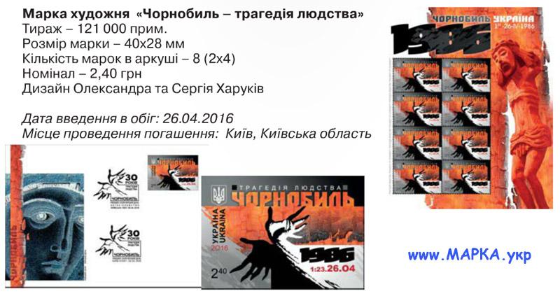 чернобыль марка Украины
