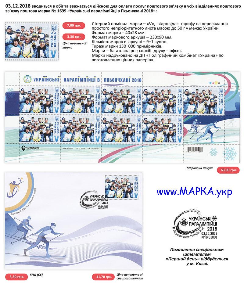 паралимпиада 2018 украина