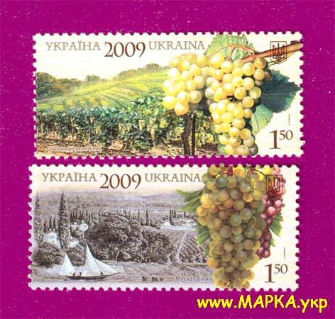 2009 марки Виноград Виноделие Флора СЕРИЯ Украина