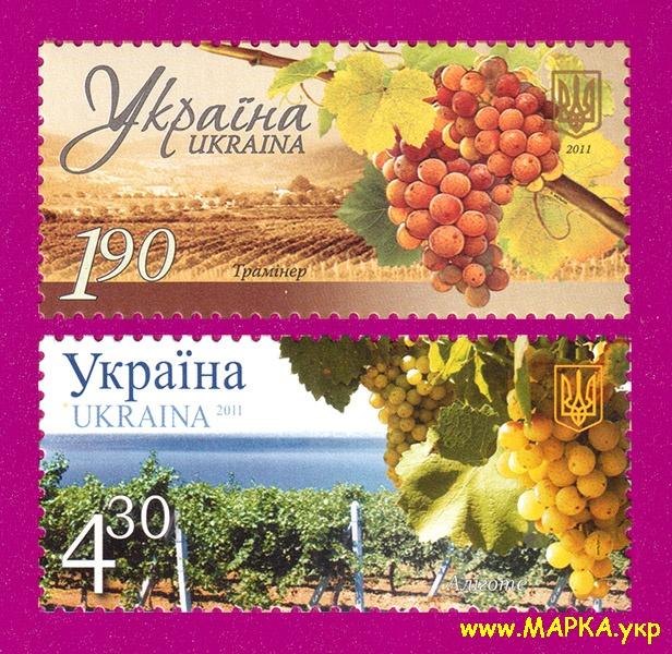 2011 марка Виноград Виноделие Флора СЕРИЯ Украина