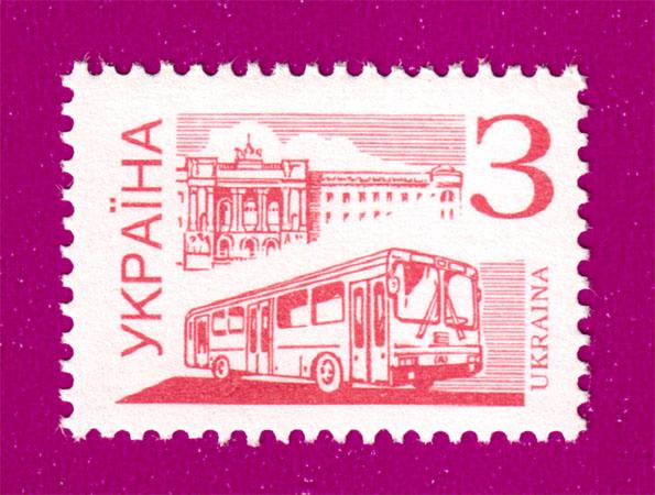 1995 N98 марка 4-й Стандарт З автобус транспорт Украина
