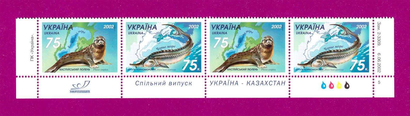 2002 часть листа Фауна Тюлень-белуга НИЗ Украина