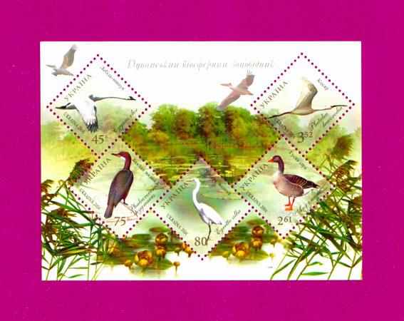 2004 блок Фауна Дунайский заповедник Украина