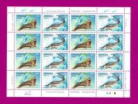 2002 лист Фауна Укр-Казахстан (тюлень-белуга)