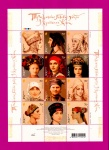 2006 Mi:UA770-781 Souvenir sheet Headdress of Ukrainian Women