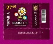 2012 ЕВРО Логотип УГЛОВАЯ С НАДПИСЬЮ ПН
