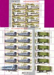 Minisheets Carriages SERIES