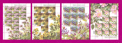 Minisheets Medical and Melliferous Plants SERIES