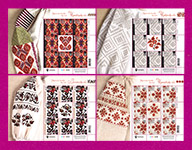 Minisheets Ukrainian Embroidery SERIES-2019