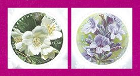 марки Цветы